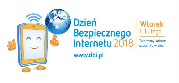 Bierzemy udział w Dniu Bezpiecznego Internetu 6 lutego 2018 r.