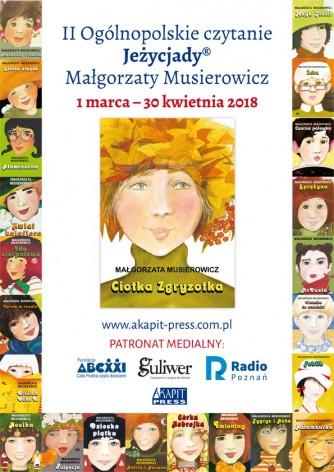 II Ogólnopolskie czytanie Jeżycjady Małgorzaty Musierowicz